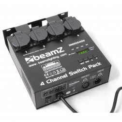 BeamZ 4-channel DMX512 Switchpack Διακόπτης