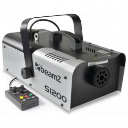 Beamz S1200 MKII Smoke Machine Επαγγελματική Μηχανή Καπνού ισχύος 1200 Watt Με Ενσύρματο Χειριστήριο και Χρονοδιακόπτη