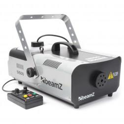 BeamZ S1500 Smoke Machine Επαγγελματική Μηχανή Καπνού DMX ισχύος 1500 Watt Με Ενσύρματο Χειριστήριο και Χρονοδιακόπτη