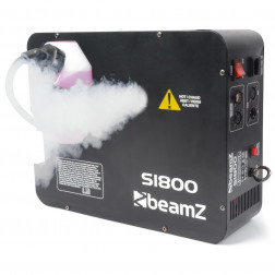 BeamZ S1800 Μηχανή Καπνού DMX με ενσύρματο χειριστήριο και χρονοδιακόπτη