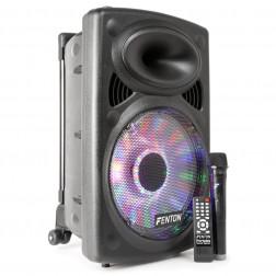 "Fenton FPS12 Φορητό ηχείο 12"" με Bluetooth, ασύρματο mic  USB MP3"