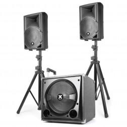 Vonyx VX800BT ολοκληρωμένο σετ ηχείων 2.1 με bluetooth και MP3
