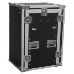 "Power Dynamics PD-F16U10T 19"" Rackcase with Tables"