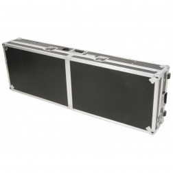 "Power Dynamics Power Dynamics universal 19"" flightcase for 8U mixer and 2 CD players"