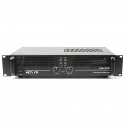 Επαγγελματικός Ενισχυτής Vonyx PA Amplifier VXA-800 II 2x 400W