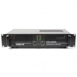 Επαγγελματικός Ενισχυτής Vonyx PA Amplifier VXA-3000 2x 1500W