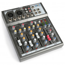Vonyx VMM-F401 κονσόλα 4 καναλιών με MP3 USB player και echo εφέ