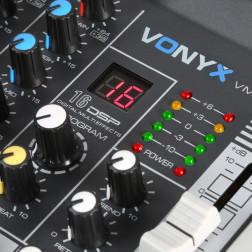 Vonyx VMM-K802 κονσόλα 8 καναλιών με USB player και DSP εφέ
