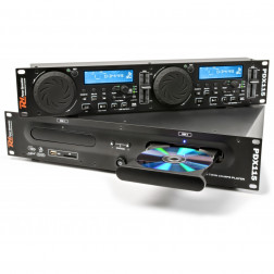 Power Dynamics PDX115 Double Player CD/SD/USB/MP3
