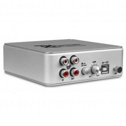 Power Dynamics PDX015 προενισχυτής Phono για πικάπ με USB και συνοδευόμενο λογισμικό εγγραφής