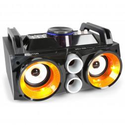 Fenton MDJ100 Partystation Φορητό Bluetooth ηχείο 100W με Επαναφορτιζόμενη μπαταρία και με USB MP3/ SD  AUX in