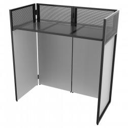 Vonyx DB4 Pro φορητό επαγγελματικό τραπέζι με 4 πάνελ ιδανικό για dj booth, home studio και εκδηλώσεις