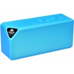 iDance Mini Blaster BM-1 Μini φορητό Ηχείο USB MP3 Bluetooth και hands free για το κινητό σας μπλέ