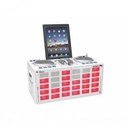 iDance Party System XD3 Ηχείο Bluetooth - Λευκό με κόκκινο LED
