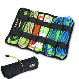 BUBM UDJ L Accessories bag (Black) Universal Wrap Cable Organiser