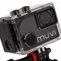 Veho Muvi KX-2 Pro 4k 12MP Action Κάμερα Handsfree με κάρτα μνήμης 16GB, Wifi και αδιάβροχη θήκη και θήκη μεταφοράς