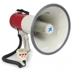 Vonyx MEG050 Megaphone 50W Record Siren Microphone Τηλεβόας 50W με Εγγραφή φωνής και Σειρήνα