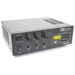 Power Dynamics PDV040 40W/100V-12V επαγγελματικός ενισχυτής εγκαταστάσεων με MP3 player