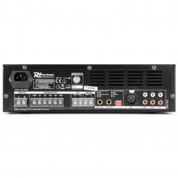 Power Dynamics PBA120 100V 120W επαγγελματικός ενισχυτής εγκαταστάσεων με MP3 player