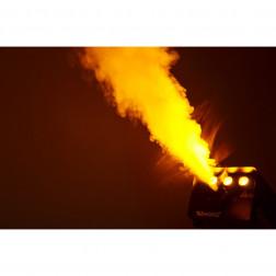 "BeamZ S700 LED Μηχανή Καπνού με ενσύρματο χειριστήριο και LED για εφέ φωτισμού ""Φλόγας"""