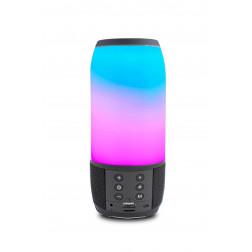 iDance Mini Blaster BM3L Black Φορητό ηχείο με Bluetooth USB Mp3 Player, LED φωτισμού και επαναφορτιζόμενη μπαταρία  και Hands free για τηλ. κλήσεις