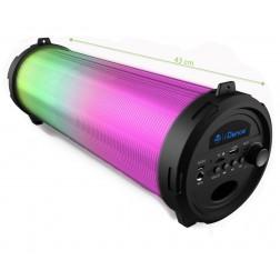 iDance Cyclone 401 Φορητό ηχείο με Bluetooth USB Mp3 Player, LED φωτισμού, Ραδιόφωνο FM και επαναφορτιζόμενη μπαταρία