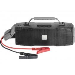 DreamWave Survivor φορητό ηχείο Bluetooth με φακό SOS, IPX5 αδιάβροχο, Hands Free, Powerbank και σύστημα εκκίνησης μπαταρίας αυτοκινήτου - Graphite
