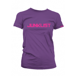 Junklist icon logo female deep purple - fuchia