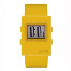 FLUD Watches The Digi Watch Pop, retro, funky watch yellow