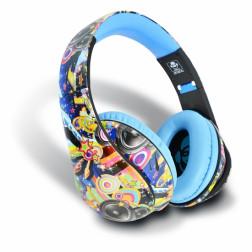 iDance Ibiza 201 ακουστικά σε μπλέ χρώμα