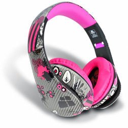 iDance Ibiza 204 ακουστικά σε ρόζ χρώμα
