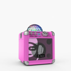 i Dance SING CUBE BC100 PINK