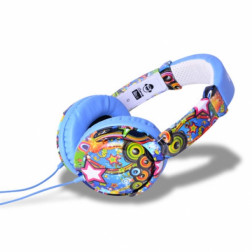 iDance Ibiza 101 ακουστικά σε μπλέ χρώμα