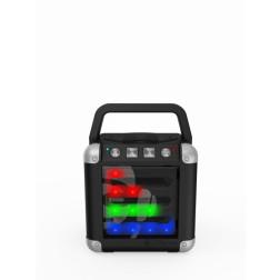 iDance Mini Cube 2 CM-2 Ασύρματο Ηχείο Bluetooth με Μπαταρία -Μαύρο