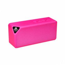 iDance Mini Blaster BM-1 Μini φορητό Ηχείο USB MP3 Bluetooth και hands free για το κινητό σας ρόζ