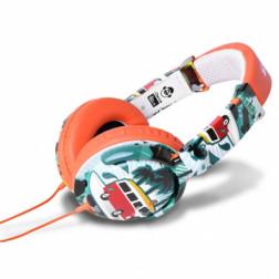 iDance Ibiza 106 ακουστικά σε πορτοκαλί χρώμα