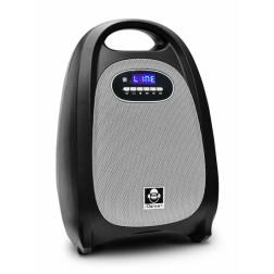 iDance Slim Blue SB20 φορητό ασύρματο ηχείο με Bluetooth, USB/SD player, μπαταρία και λειτουργία εγγραφής rec