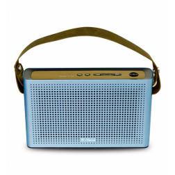 iDance Slim Blue2 SB2 Φορητό Ηχείο με μπαταρία, Bluetooth Mp3 και λουράκι μεταφοράς σε Mπλέ Powerbank