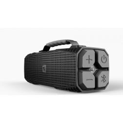 DreamWave Elemental φορητό ασύρματο ηχείο Bluetooth με φακό SOS, IPX5 αδιάβροχο, Hands Free και Powerbank - Graphite
