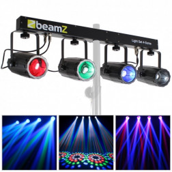 Beamz 4-Some DMX Moonflower Effect Lighting Rail SystemBeamz 4-S