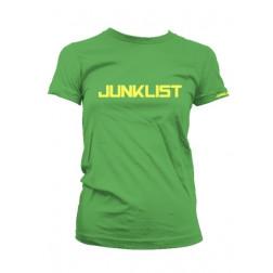 Junklist icon logo female grass - yellow
