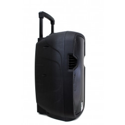 "iDance Groove GR420MK3 Ενεργό φορητό Ηχείο 12"" με μπαταρία, MP3 USB FM Bluetooth, 2 Ασύρμ. Μικρόφ, τρόλεϊ και τηλεχειριστήριο"