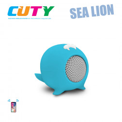 iDance Cuty SEALION Blue μικρό φορητό ηχείο με Bluetooth