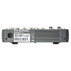 Phonic AM 220P 2-MIC/LINE 2-STEREO INPUT COMPACT MIXER Με Ενσωματωμένο USB Player