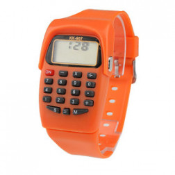 Retro Electronic Watch with Calculator