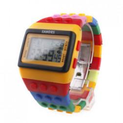 Brick retro Pop colorful watch