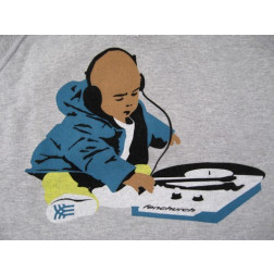 Fenchurch DJ baby hoodie grey