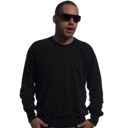 Carrot clothing polka dot crewneck