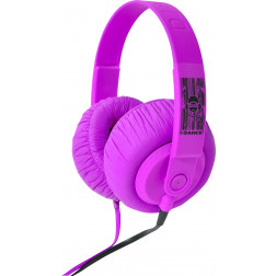 iDance SDj 550 ακουστικά σε ρόζ χρώμα