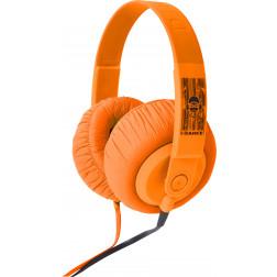 iDance SDj 850 ακουστικά σε πορτοκαλί χρώμα